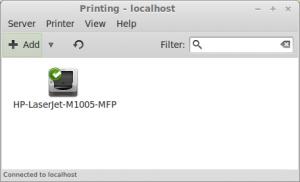 add printing