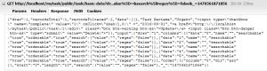firebug datatables